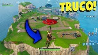 👉 FORTNITE TIP TO GET TO THE SECRET ISLAND!! - Battle Royale