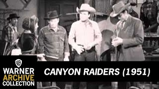 Canyon Raiders - Monogram Cowboy Collection Volume 2 (Preview Clip)