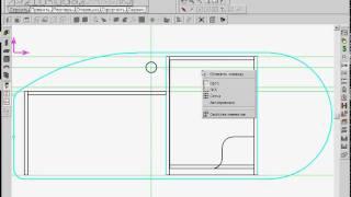 Базис-Мебельщик 7.0 Конструирование стола Часть 2