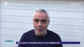 Addio Bibi Ballandi, re dello show (2^ parte) - La vita in diretta 15/0272018