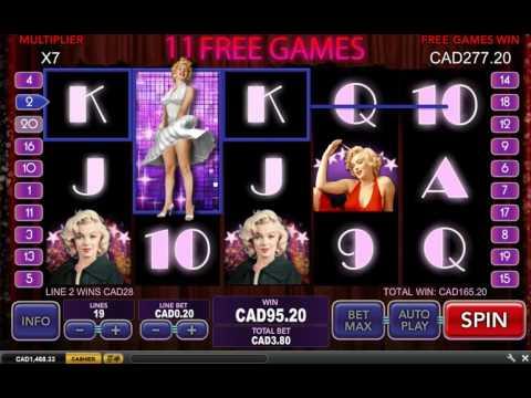 Marilyn Monroe Slot Bonus Mega Big Win