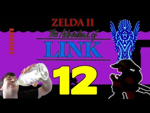 Let's Play Zelda II The Adventure of Link Part 12: Final Fights - Thunderbird & Shadow Link [ENDE]