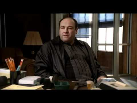The Sopranos - Johnny Sack And Tony Talk