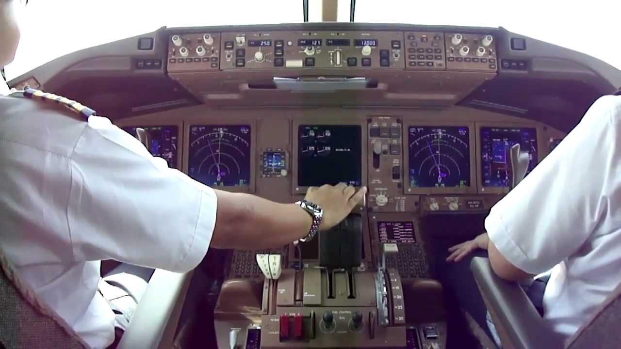 B777 Takeoff RWY 13R Abu Dhabi