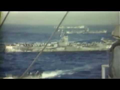 Invasion of Iwo Jima: Admiral Richmond K. Turner Aboard USS Eldorado (AGC-11), 04/05/1945 (full)
