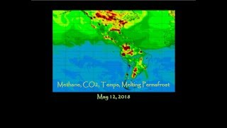 Methane, CO2, Temps, Melting Permafrost - weekly update (May 12, 2018)