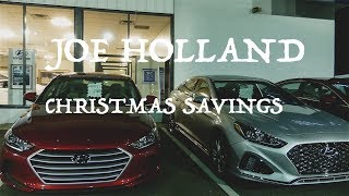 Car Dealership Joe Holland Hyundai with huge savings!!