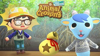 TREASURE HUNT with Sherb | What's inside? | Animal Crossing New Horizons #35