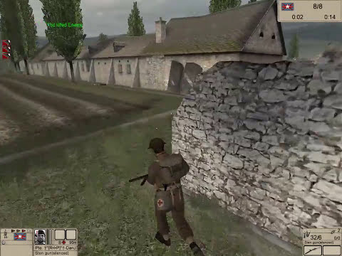 COOP MISSION: Burgundy 2 (Farmstead) | Hidden and Dangerous 2