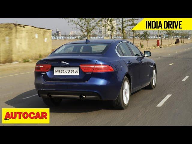 view - jaguar xe | india drive | autocar india | gaadi