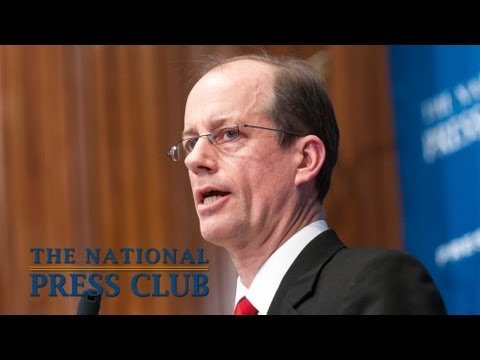 NSA Whistleblower Thomas Drake speaks at National Press Club - March 15, 2013