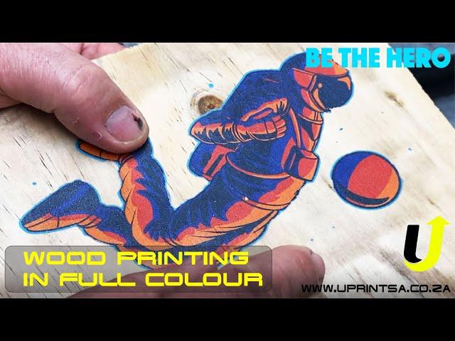 DIY print on Wood in Full colour
