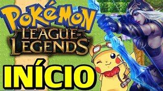Pokémon League of Legends (Hack Rom) - O Início