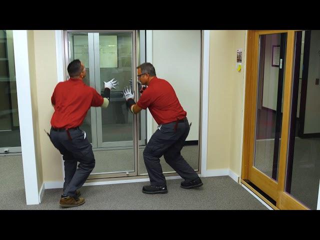 Field Glaze Milgard Vinyl Door and Removing IG unit