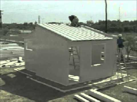 Kconstruction como construir una casas en pvc youtube for Casas pvc para jardin