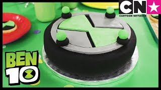Бен 10 на русском   Потрясающий торт «Омнитрикс» Бен 10   Cartoon Network