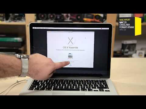 OS X Format Nasıl Atılır?