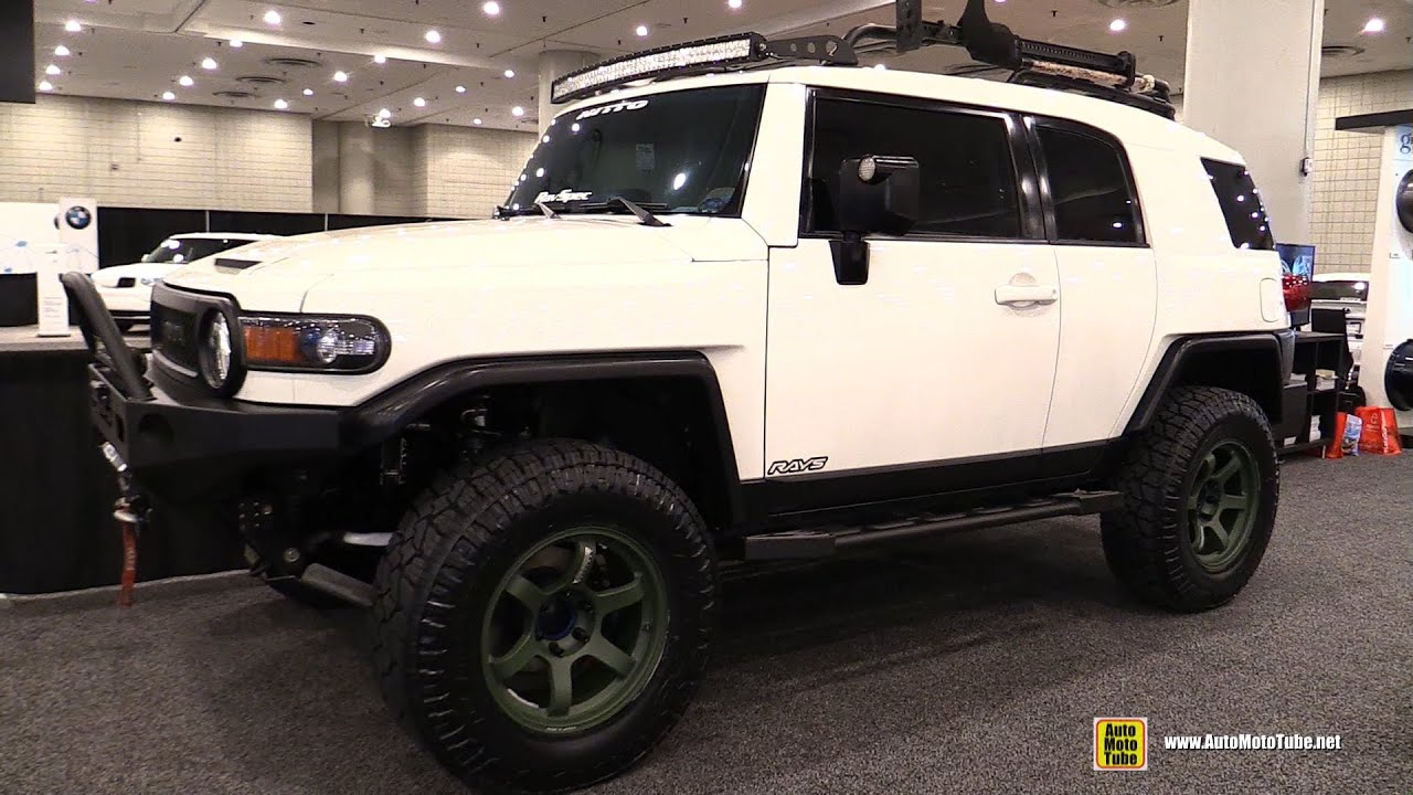 2015 Toyota Fj Cruiser Rays Customized Exterior