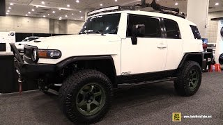 2015 Toyota FJ Cruiser Rays Customized - Exterior Walkaround - 2016 New York Auto Show