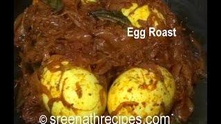 Egg Roast - Kerala Egg Roast