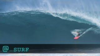 Greg Long Surfs Huge Puerto Escondido Wave: Billabong XXL ROTY Awards Ep #1