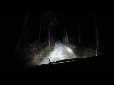 Off road night ride