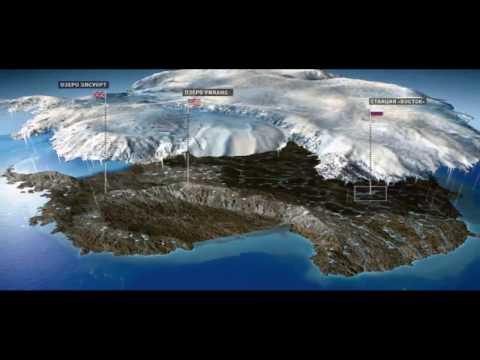 The mysterious map of Antarctica. Самая загадочная карта Антарктиды.