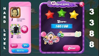 Candy Crush Saga 3388 | HOW TO COMPLETE THE LEVEL WITH ILLUSTRATIONS