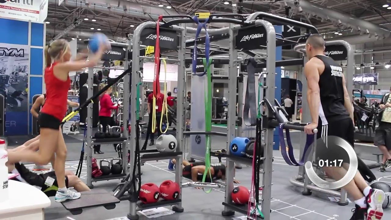 90 Secs With... Life Fitness Synrgy360 - YouTube
