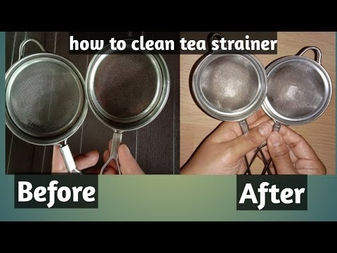 How to clean tea strainer/चहाची चाळणी कशी स्वच्छ करावी/ चाय की छलनी कैसे साफ करें