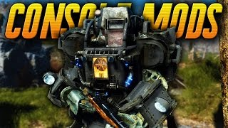 Fallout 4 Console Mods GAMEPLAY - Crazy Cheats, Armor, Weapon & More ! (Xbox One Mods)