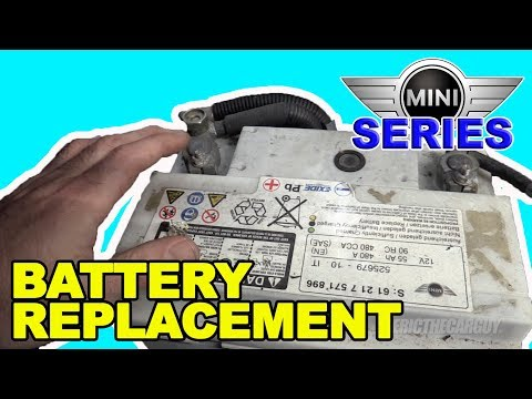 2007-2013 Mini Cooper S (R56) Battery Replacement