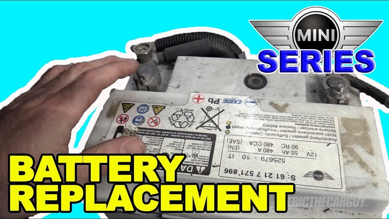 2007 2017 Mini Cooper S R56 Battery Replacement