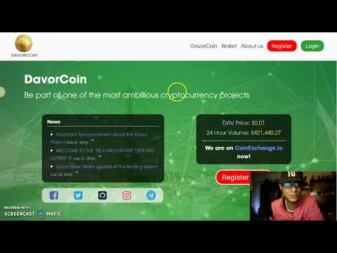 Update: DavorCoin Changes & Updated Their Telegram, Thoughts??
