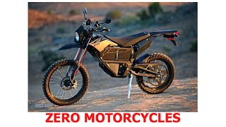 ZERO motorcycles - a dirt bike that doesn't need gas and its SILENT