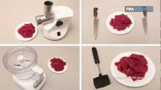 «Свежая еда» - 4 способа измельчения мяса для фарша