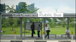 On-Demand Public Bus Trial