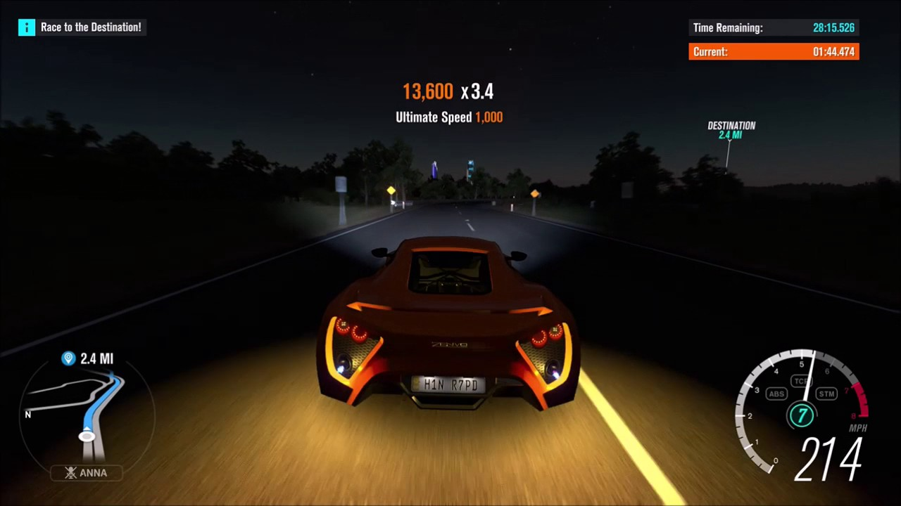 Forza Horizon 3-Zenvo ST1 Top Speed Run - YouTube
