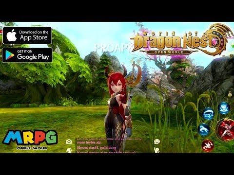 World of Dragon Nest - Bom Tấn Nhập Vai Thế Giới Mở chính thức ra mắt! SERVER RA LIÊN TỤC VẪN FULL!