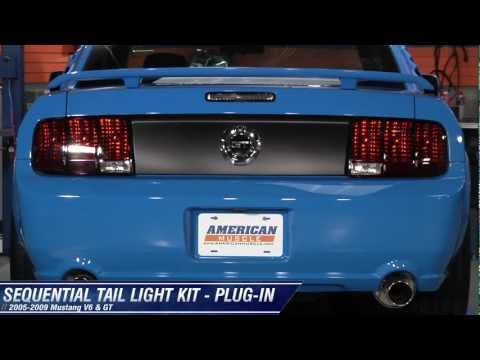 Mustang Raxiom Sequential Tail Light Kit - Plug-in (05-09 All) Review