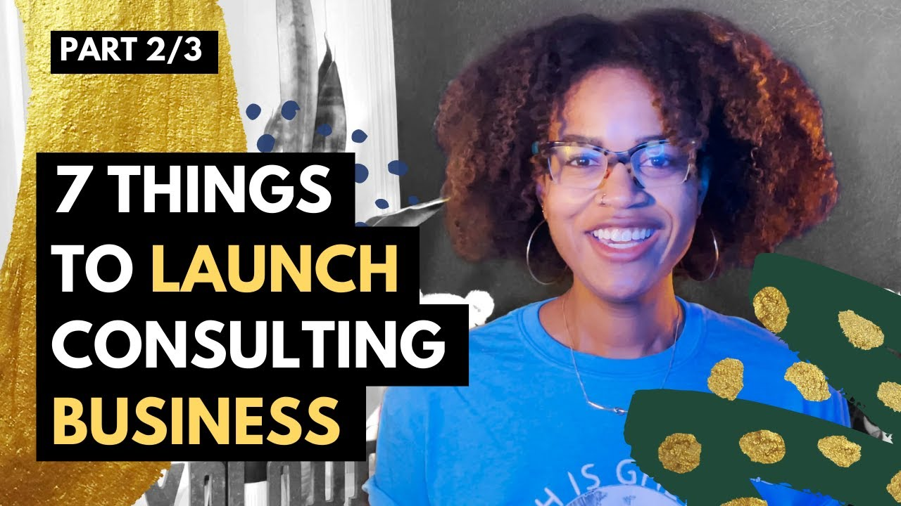 Part 2 of 3: How I Started a 6 Figure DEI Consulting Business in 6 months - Steps BEFORE Launching