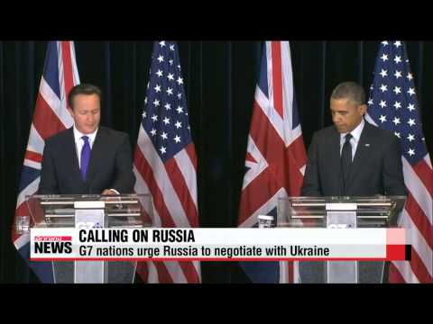 G7 nations urge Russia to work with Ukraine to resolve crisis