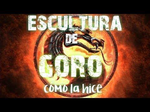 COMO HICE LA ESCULTURA DE GORO-PROCESO
