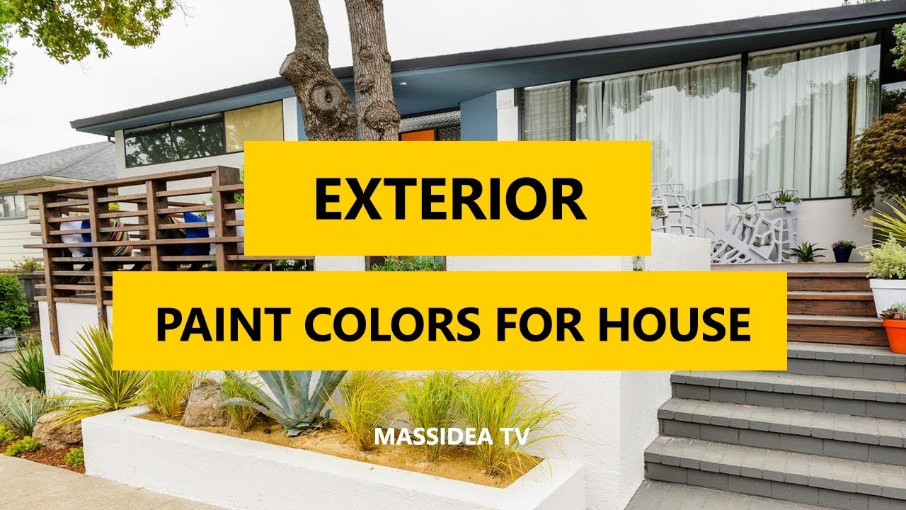 50+ Best Exterior Paint Colors for House 2018 - YouTube