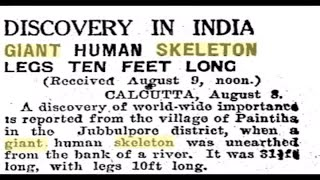 The Smithsonian Hides the Fact that Giant Human Beings Existed