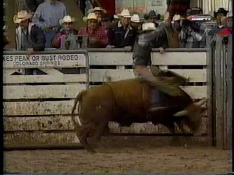 Kelly Armstrong Pikes Peak or Bust Rodeo Colorado Springs,Co 1998