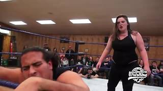 "Davienne vs. Big Daddy Beluga - Limitless Wrestling ""Hogwash"" (Intergender)"