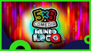 5x8 Comedia: Nueva temporada | 4 de marzo, 11 PM | Distrito Comedia