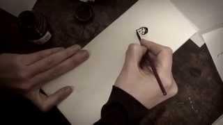 Natalie drawing... Thumbnail