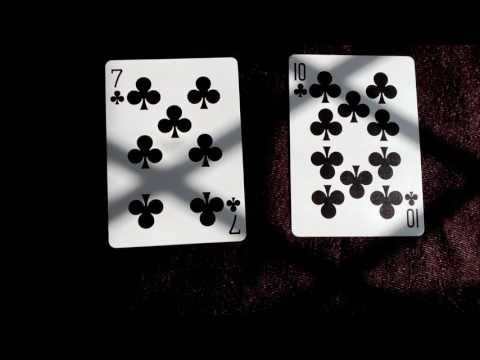 7 of clubs in combination with 10 of clubs